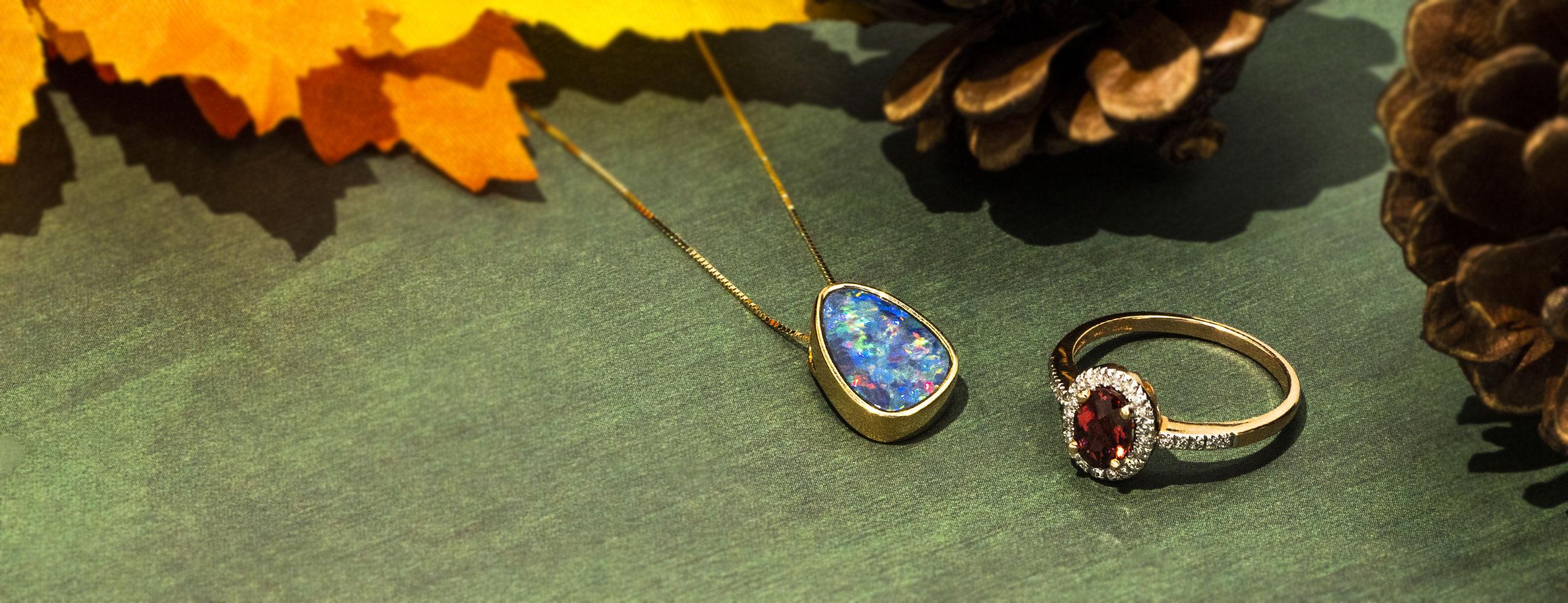 Tourmaline & Opal