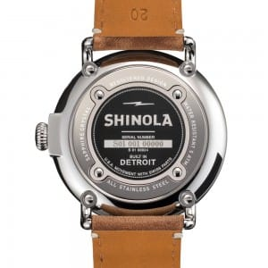 This Shinola Runwell men's watch is a beautiful timepiece that is built to last, and built right here in America.