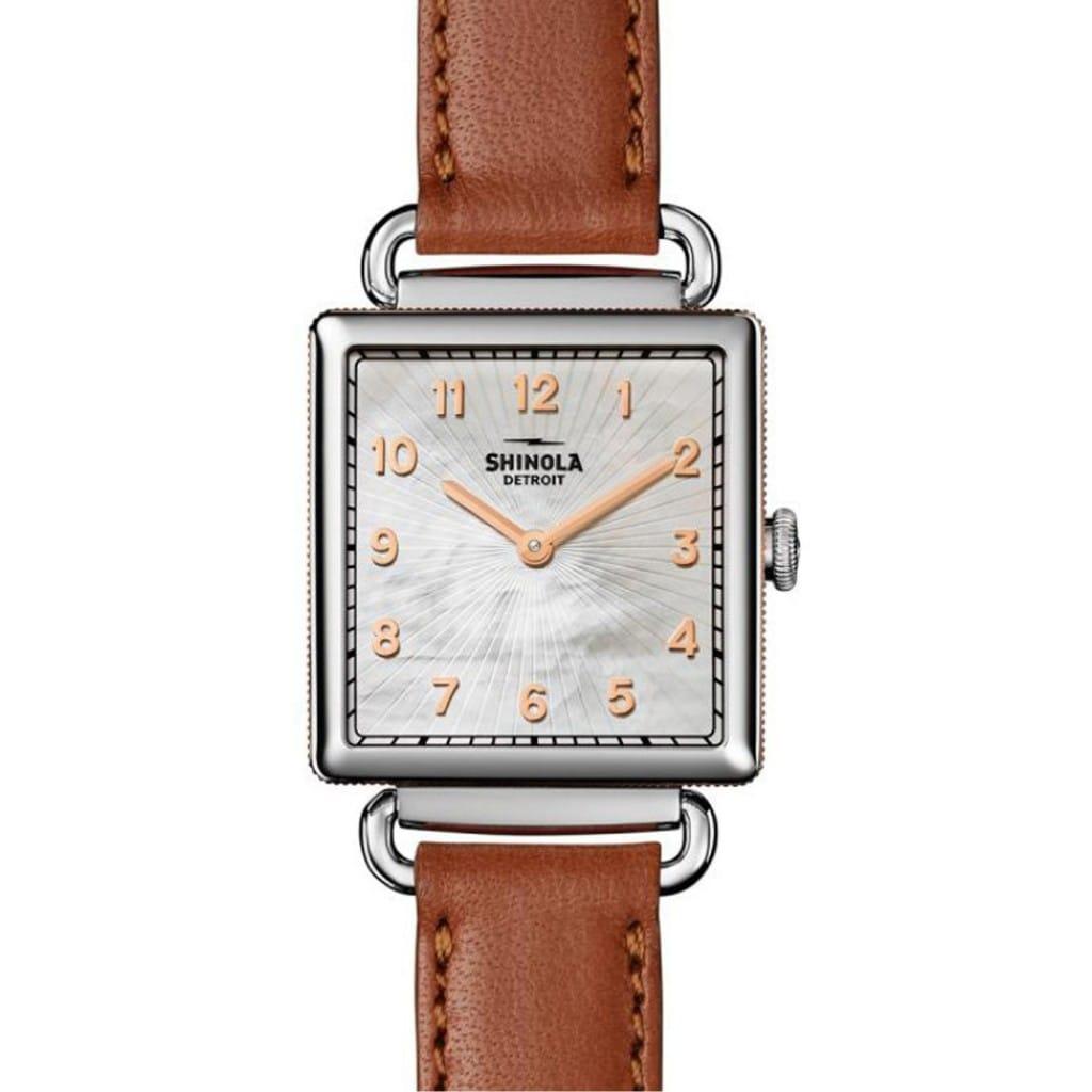 Shinola Cass Limited Edition Maya Angelou Watch