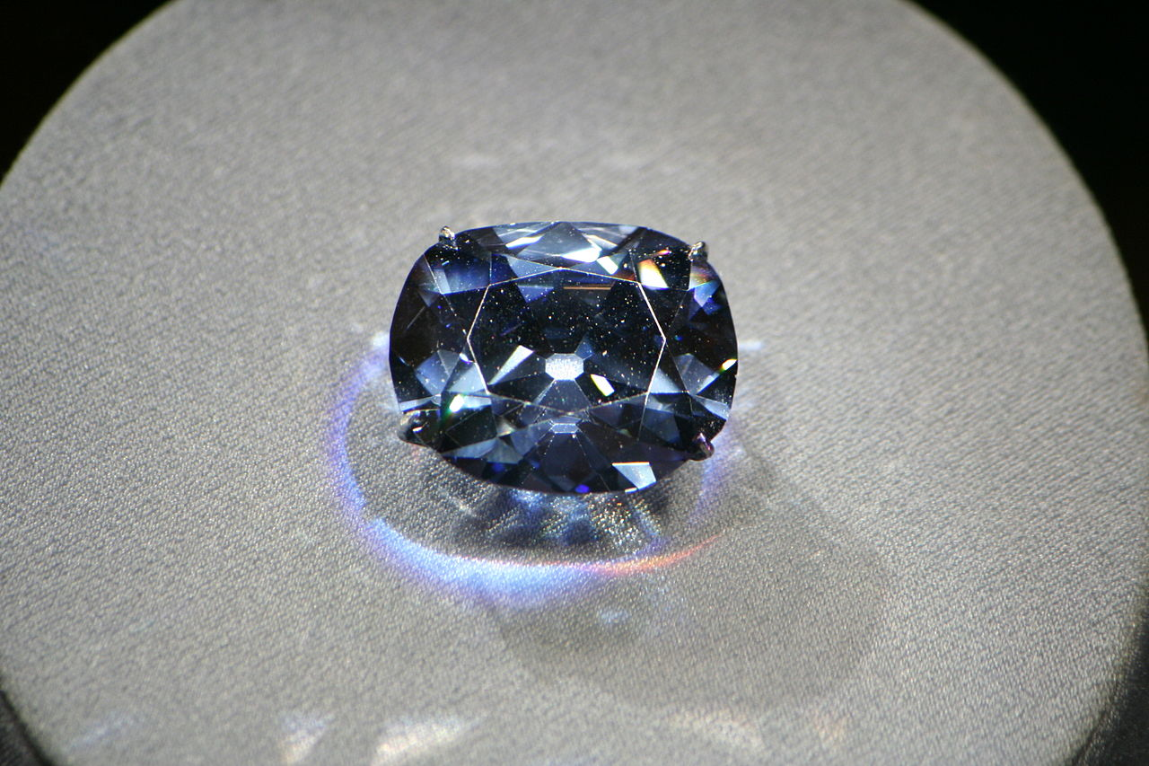 April's famous birthstone: The Hope Diamond