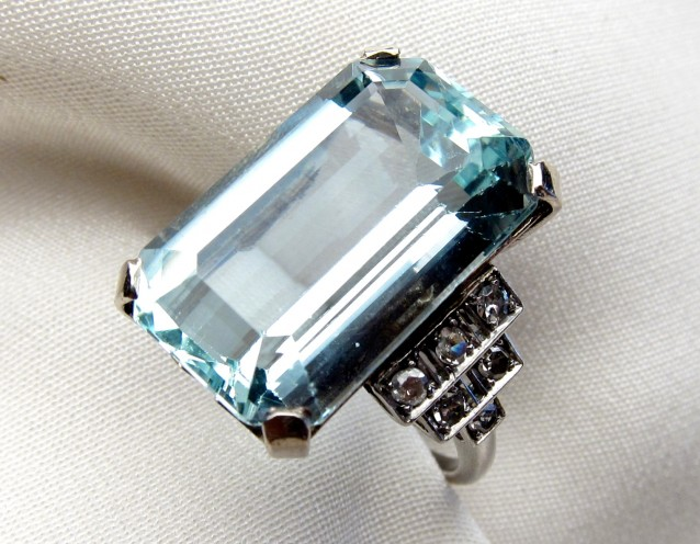 March's Famous Aquamarine: Meghan Markle's Ring