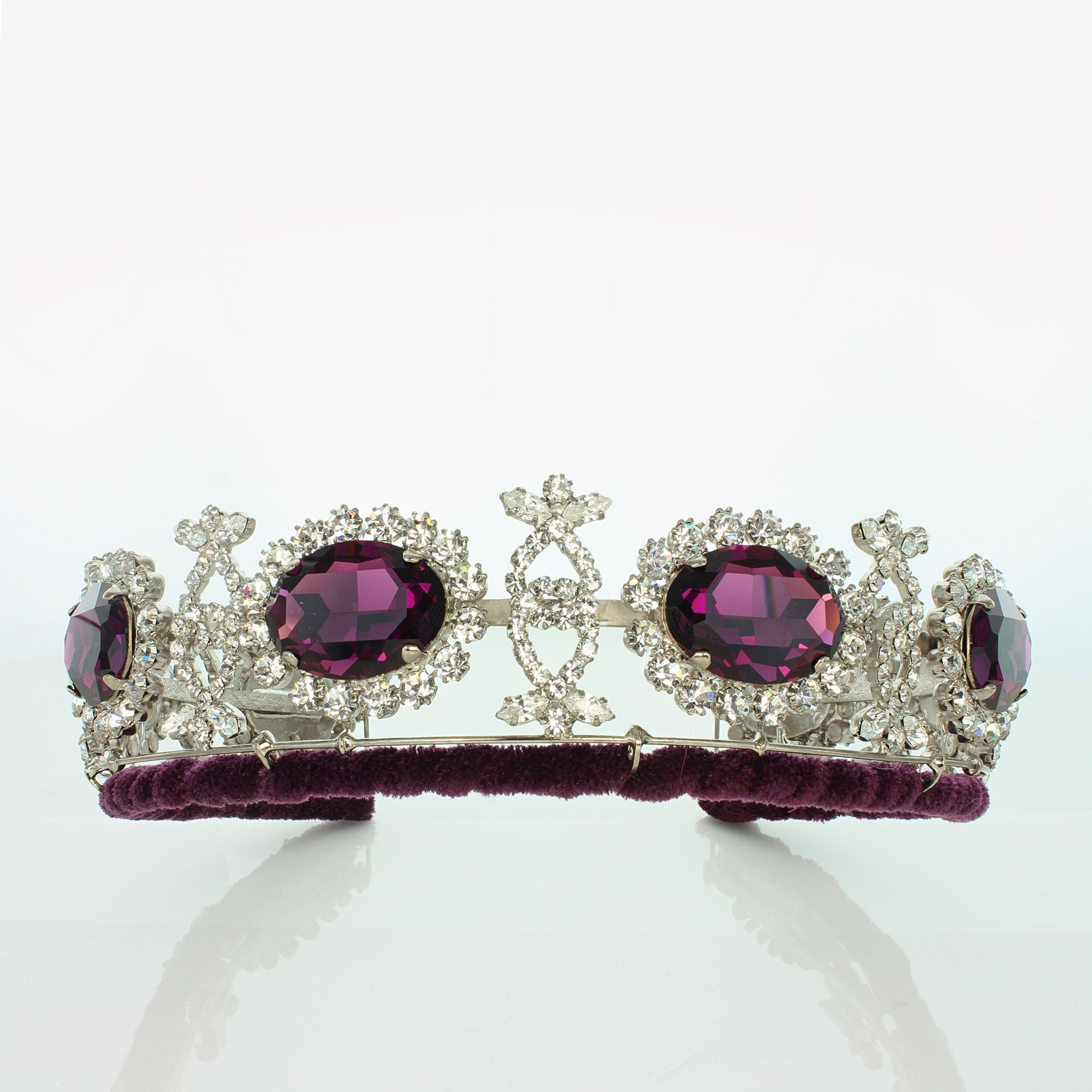 February's Famous Amethyst: The Swedish Amethyst Tiara