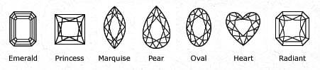 Fancy Diamond Shapes