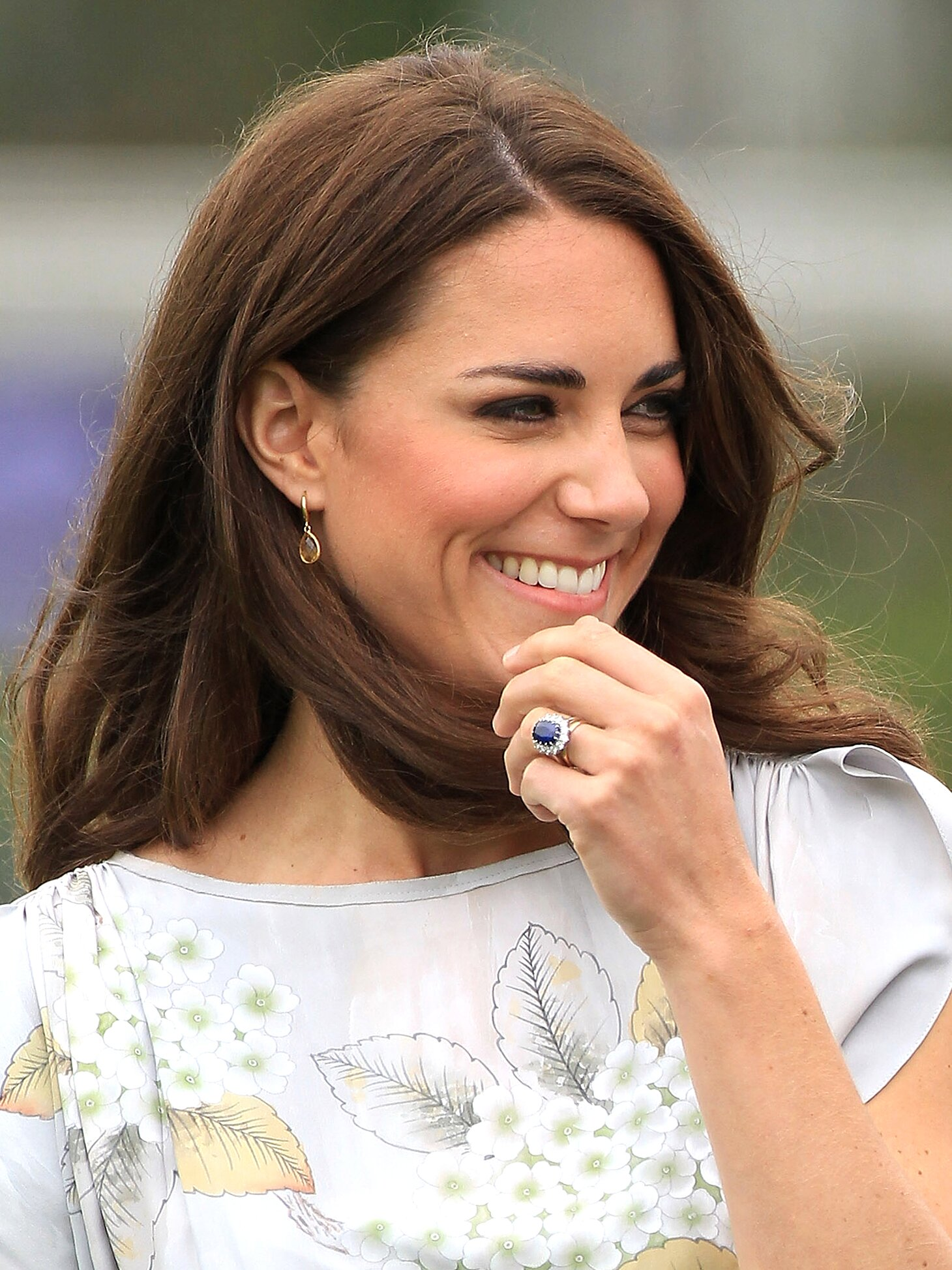 Kate's Stunning Sapphire